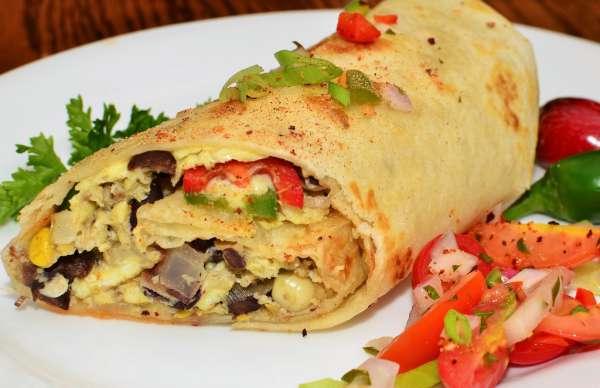 Breakfast: Easy to Freeze Burritos