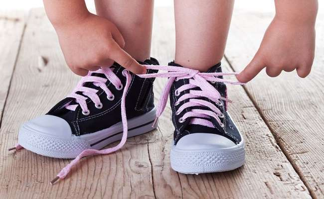 How To Put Shoes on A Baby