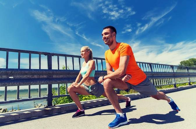 Running strengthens your muscles and lungs